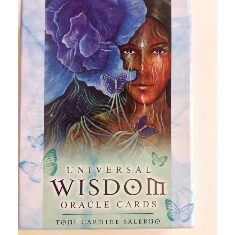I felt drawn to these Universal Wisdom Oracle Cards as I perused around Namaste Bookstore on Union Square in NYC and we are a perfect match. I enjoy the process of getting familiar with them. Anyone want to help me practice? I love adding these to my personal readings and discernment. It adds a level of clarity. #Wisdom #oracle #cards #Namaste #NYC #NewYorkCity #ToniCarmineSalerno #universal #unionsquare #spirit