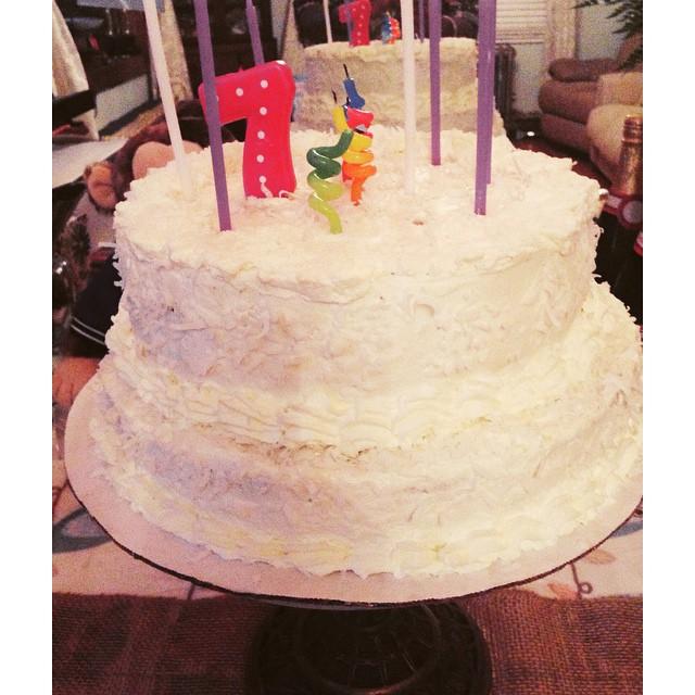 Mita's Coconut Cake—it's the only cake or sweetness I still crave. Happy Birthday to my Tio. Thanks Mita! #livehappily