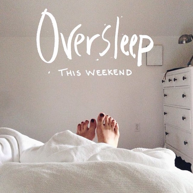 Oversleep and catch up on #Pinterest #HappySaturday #oversleep #relax #livehappily #thecitruslife