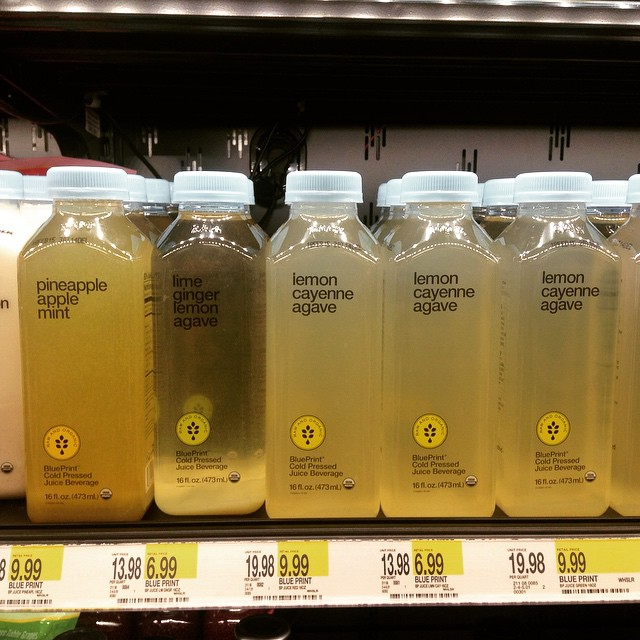 In Target now?? Oh yeah! #blueprint #bpcleanse #eatnaturally #thecitruslife #love