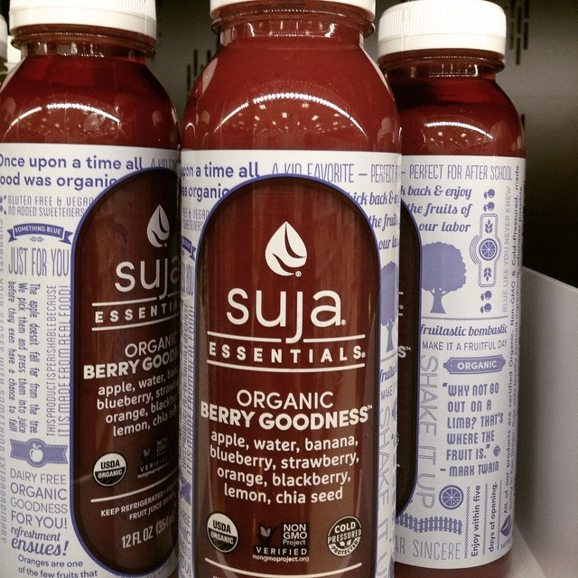 They had the #BerryGoodness #Suja #target #eatnaturally #thecitruslife