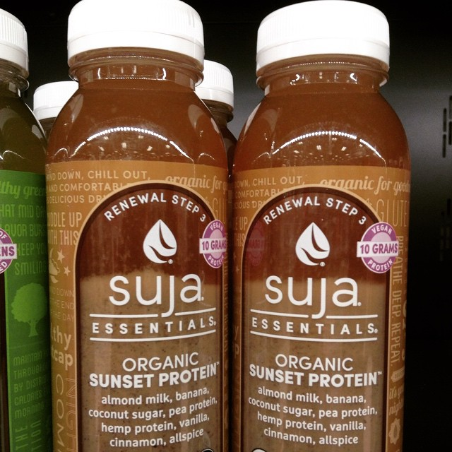 Saw these in Target and got super excited. #Suja #eatnaturally #thecitruslife