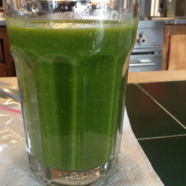 #pineapple #spinach #green #smoothie #eatnaturally