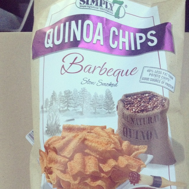 My new addiction. #Simply #Quinoa #Chips