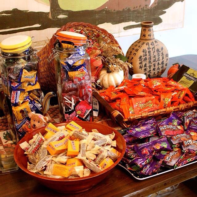 There was a lot of sweet loot. #HappyHalloween #Halloween #livehappily