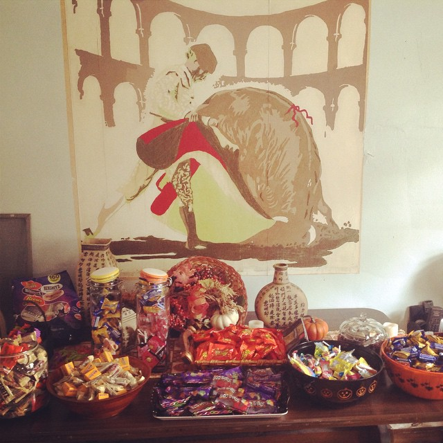 Candy parade prep. #candy #HappyHalloween #Halloween #livehappily
