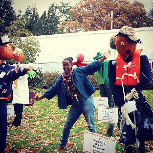 Loved these pumpkin scarecrows made by elementary school children at #BooAtTheZoo #BeardsleyZoo in #Connecticut. #HappyHalloween #Halloween #family #familytime #pumpkins #scarecrows