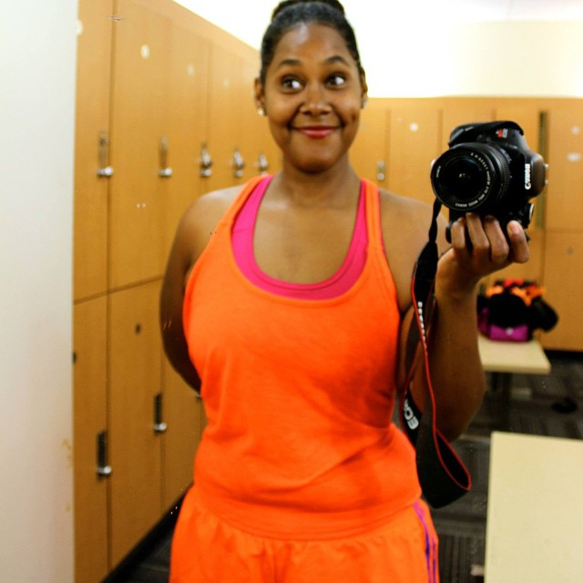 #NYSC I'm about to train super duper hard with my red lips. #livehappily #fitness #TheCitrusLife