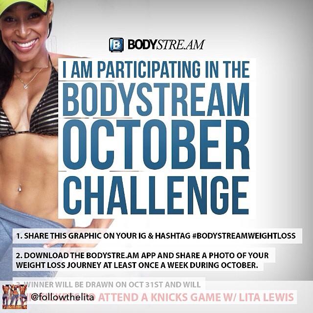 #BodyStreamWeightLoss #October #Challenge #fitness