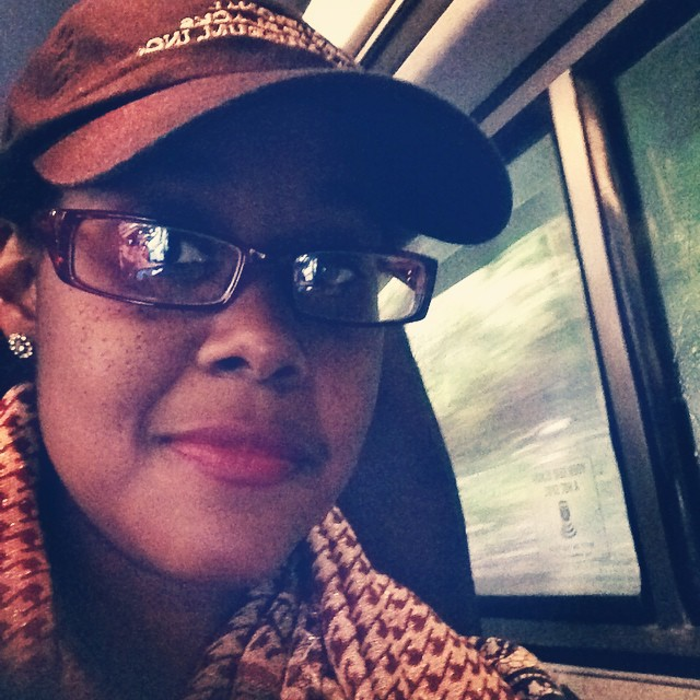 "Keeping it low key with travel and rain. Sporting my ""National Great Blacks in Wax Museum"" cap. #HappySaturday #goodmorning #travel #amtrak #livehappily #thecitruslife #NationalGreatBlacksInWaxMuseum #NY"