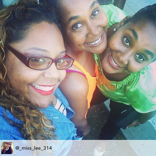 The three amigas at Clyde's birthday Brunch. #livehappily #thecitruslife #familia
