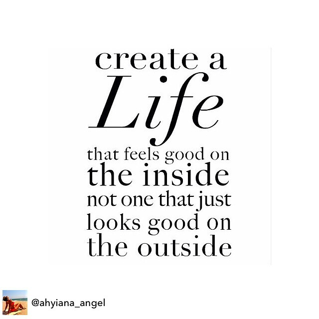 Love this from @ahyiana_angel Create A Life That Feels Good Inside. #livehappily #thecitruslife