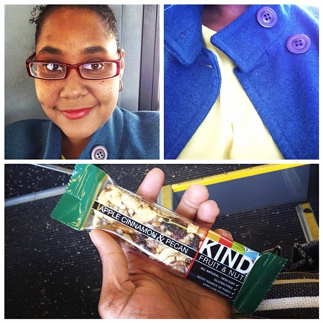 Today was a royal blue and buttercup yellow day. Love these little energy boosters. My fav is the peanut butter and dark chocolate. Yummers! They are awesome for on the go but alas, I'm going to cut my intake of them to 1 per day. #royal #blue #buttercup #yellow #energy #boosters #peanutbutter #darkchocolate #chocolate #peanut #eatnaturally #livehappily #thecitruslife #beastingonkindbars #kindbars #mac #redlipstick #lipstick