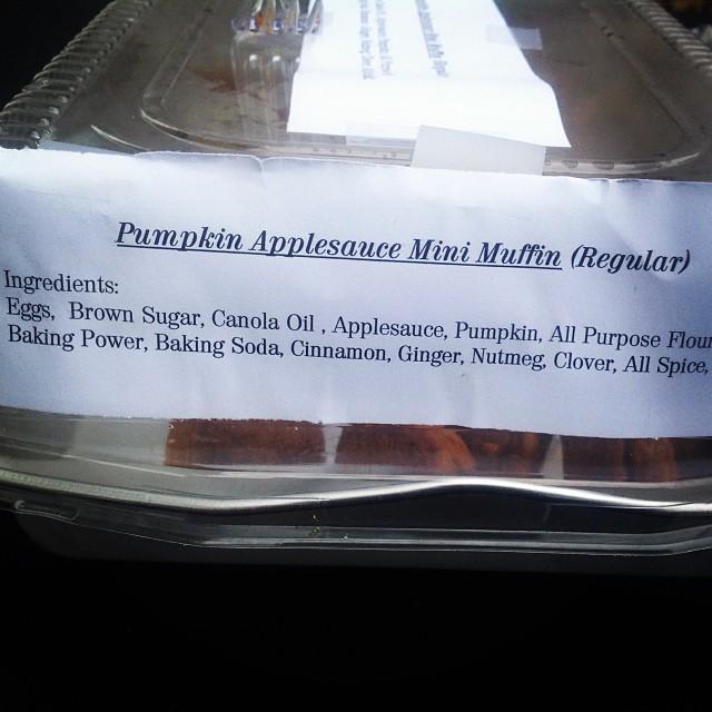Pumpkin Spice with regular flour. #happyhalloween #thecitruslife #livehappily #trickortreat