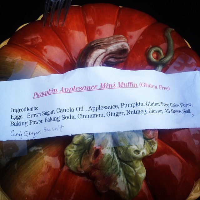Pumpkin Spice Gluten Free Ingredient list. Our #TrickOrTreat for adults. #happyhalloween #livehappily #thecitruslife