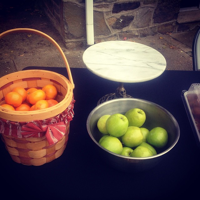 RIP Granny Smith and pumpkin tangerines. #happyhalloween #livehappily #thecitruslife