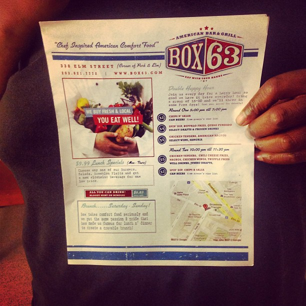 Ordered from Box 63 for the family meat eaters and they went bonkers. #newhaven #Box63