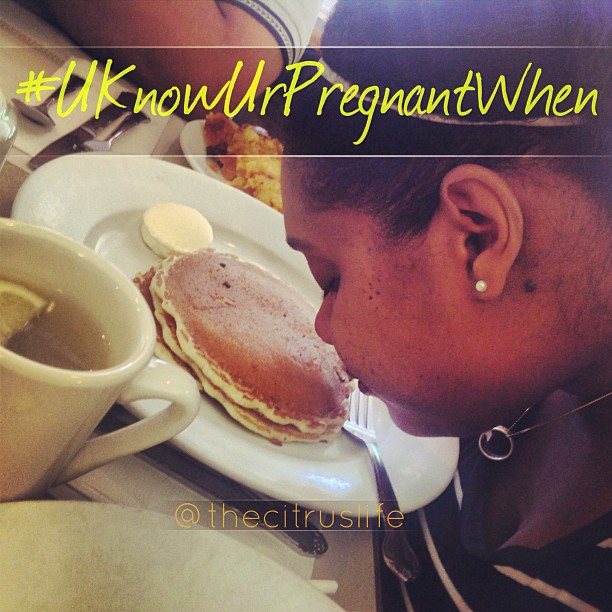 #UKnowUrPregnantWhen you have to smell everything before tasting it. #liveeatconnect #thecitruslife #pregnancy