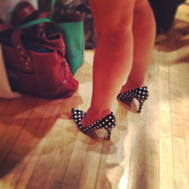 Her shoes are everything! @stacykildal #sparkandhustle