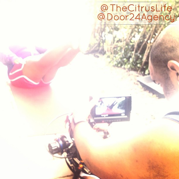 """Shooting my """"Join Me On My Journey"""" Video with @bpsproductions #CitrusLife #fitfunfree #JoinMeOnMyJourney"""