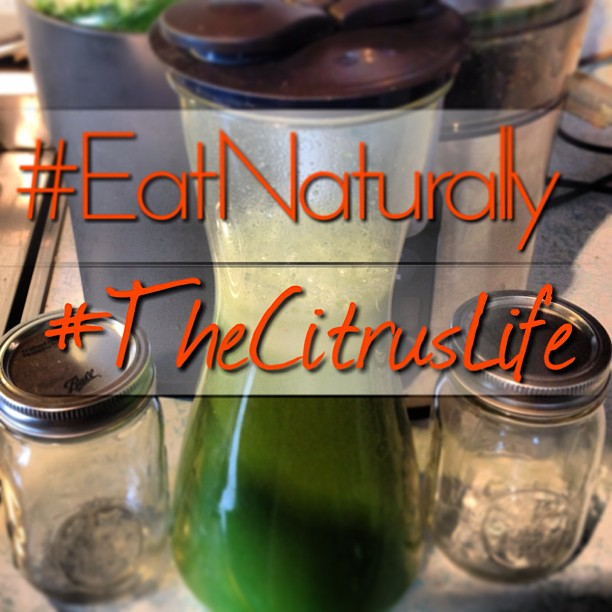 #Livehappily #eatnaturally #connectspiritually #thecitruslife #greenjuice