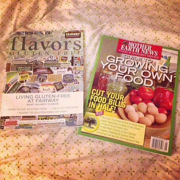 Bedtime reading…if I don't fall asleep first. #citruslife #keepitfresh #GrowingYourOwnFood #FairwayFlavors