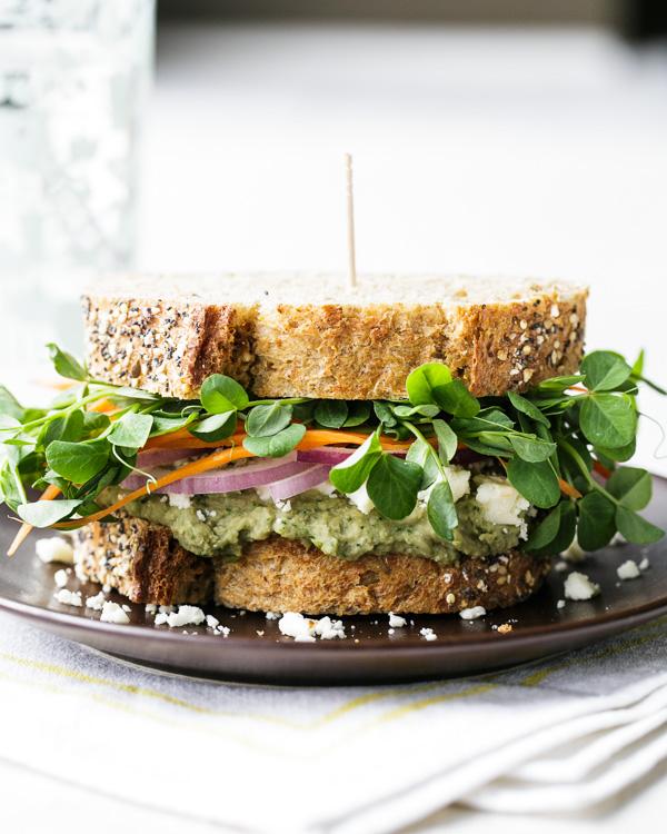 notanotherhealthyfoodblog: MEDITERRANEAN LOADED VEGGIE SANDWICH click here for recipe