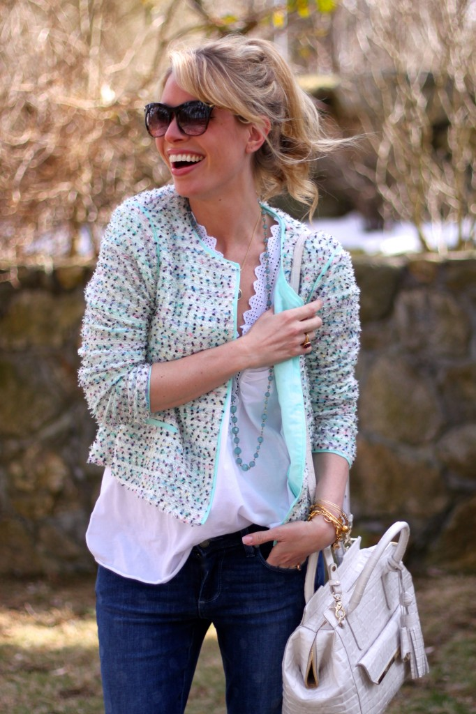 Her smile adds to this already bright, beautiful ensemble.@tjmaxx Trending: Polka Dots and Pastels Style Scout Jordan Reid shows off her casual chic personal style. Read More