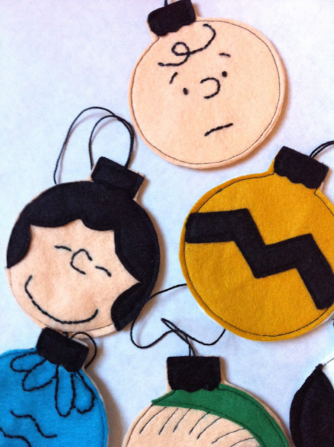 Subscribe to The Citrus Life Newsletter! I am a huge Peanuts fan. Check out these DIY Charlie Brown Felt Ornaments:  diychristmascrafts: DIY Charlie Brown Felt Ornaments Tutorial from A Little Gray here. via make
