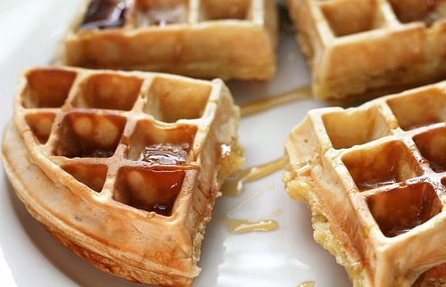 Waffles are a great comfort food for the fall and winter