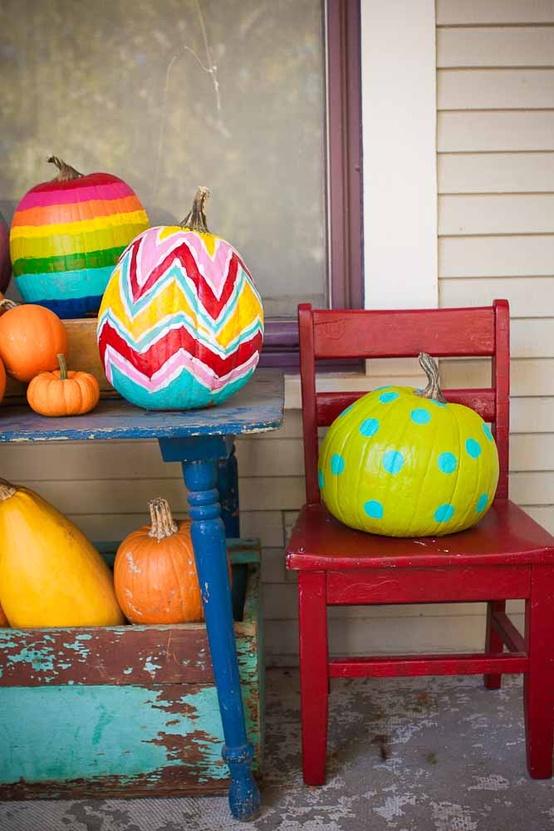 Fun & funky Pumpkin Colors
