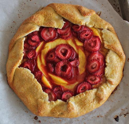 foodopia: vanilla peach berry galette: recipe here