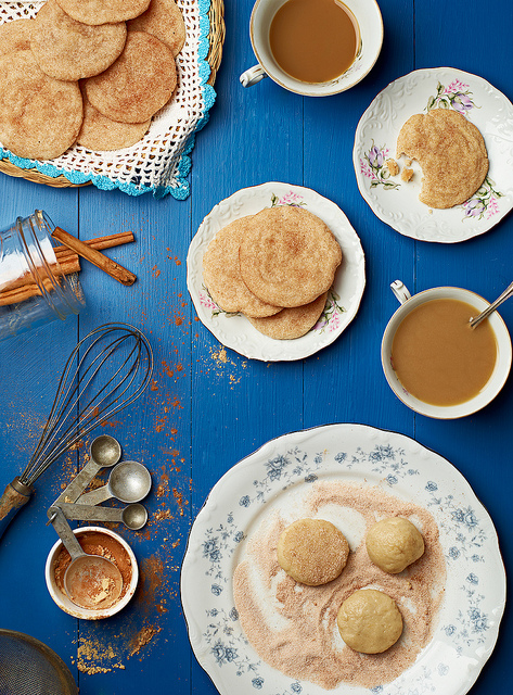 veganfoody: Chai Spice Snickerdoodles
