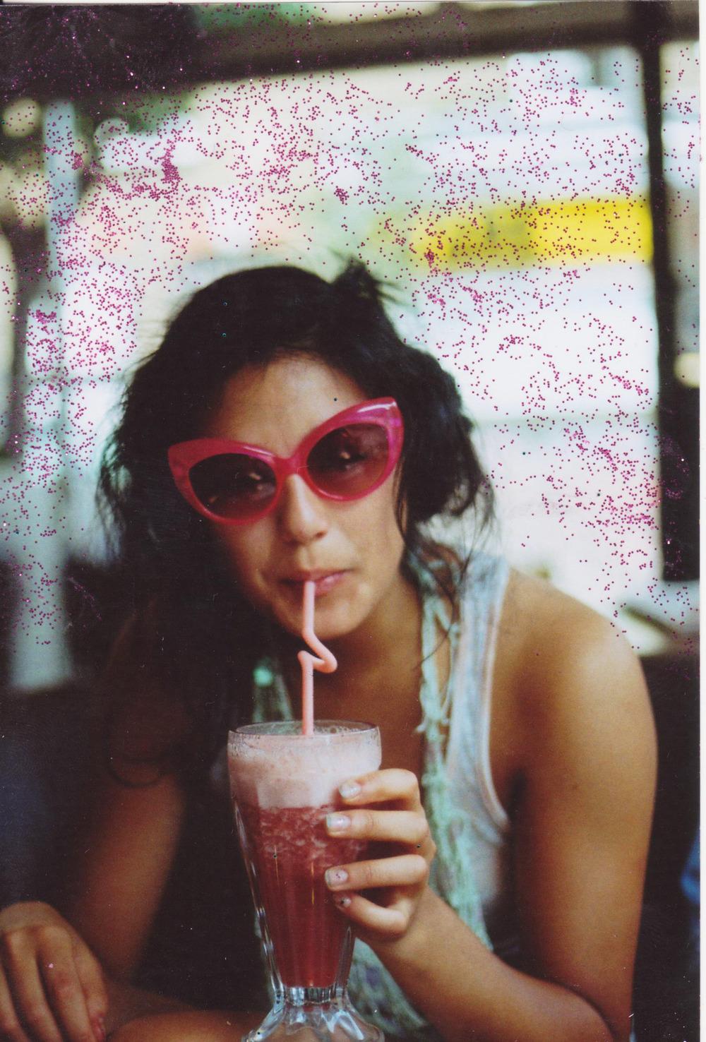 Love this Photo of Milkshakes and Shades