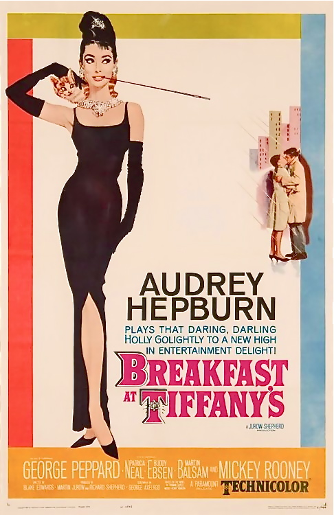 "One of my favorite Movies! hollyhocksandtulips: ""Breakfast At Tiffany's"", 1961"