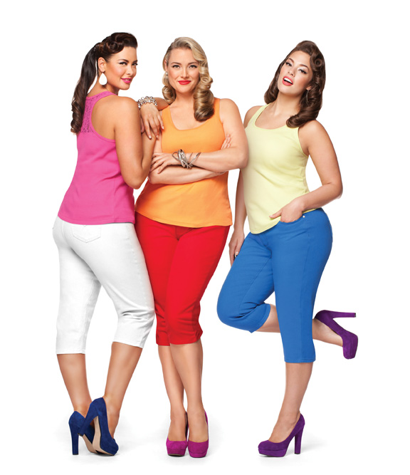 Love these looks from @curvesandconfidence