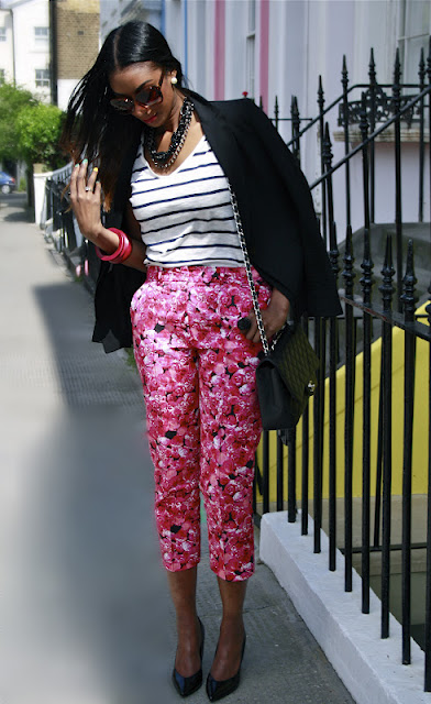 """""""Florally"""" Breathtaking Pants"""