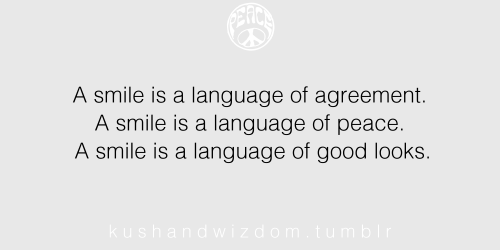 A Smile is a Language
