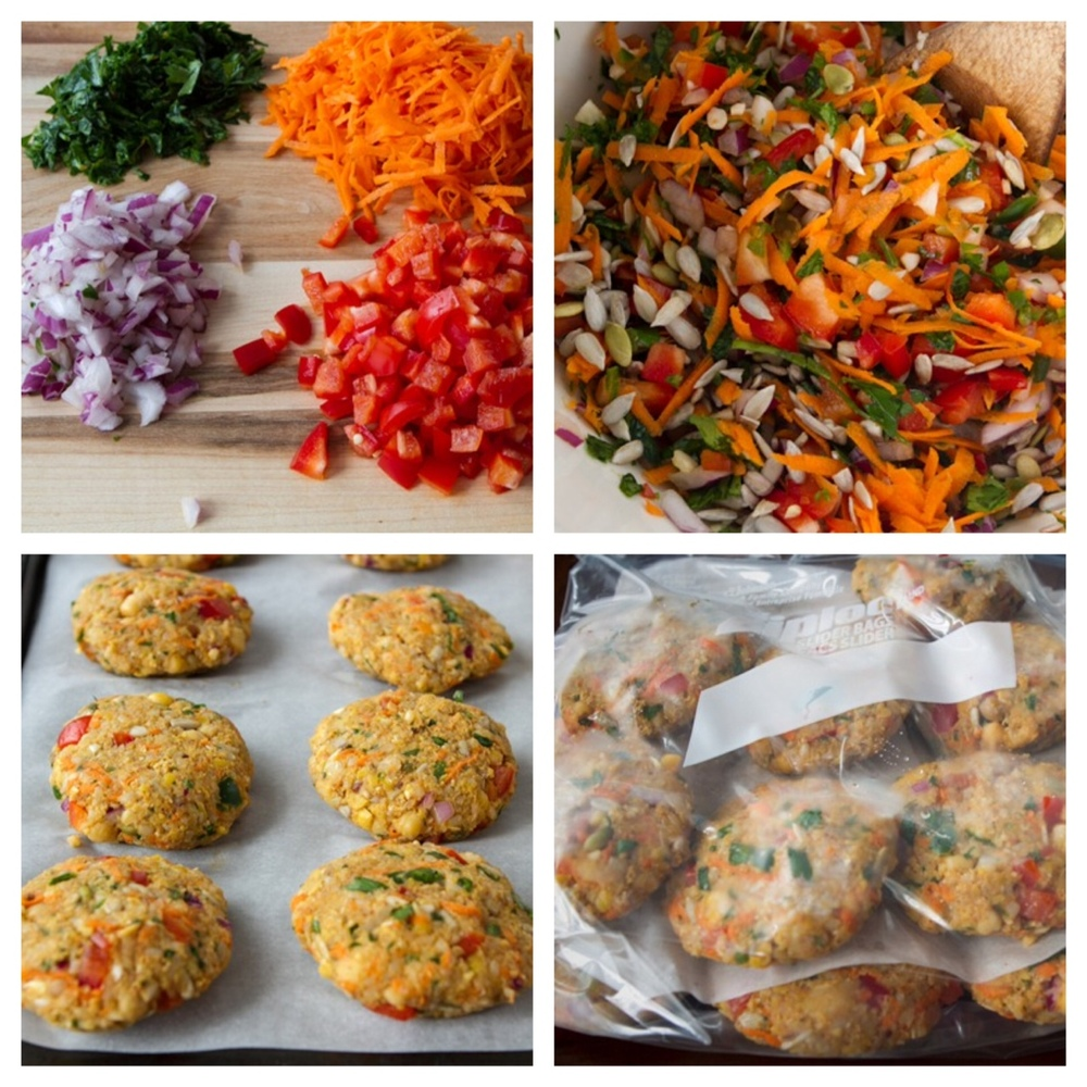 heyfranhey: A comprehensive step-by-step tutorial on prepping and storing veggie burgers! Go here for the full breakdown and make sure to bookmark Oh She Glows. She's amazing!
