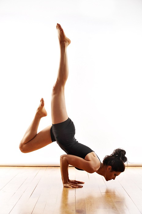 yoga basically defies gravity, and i love it