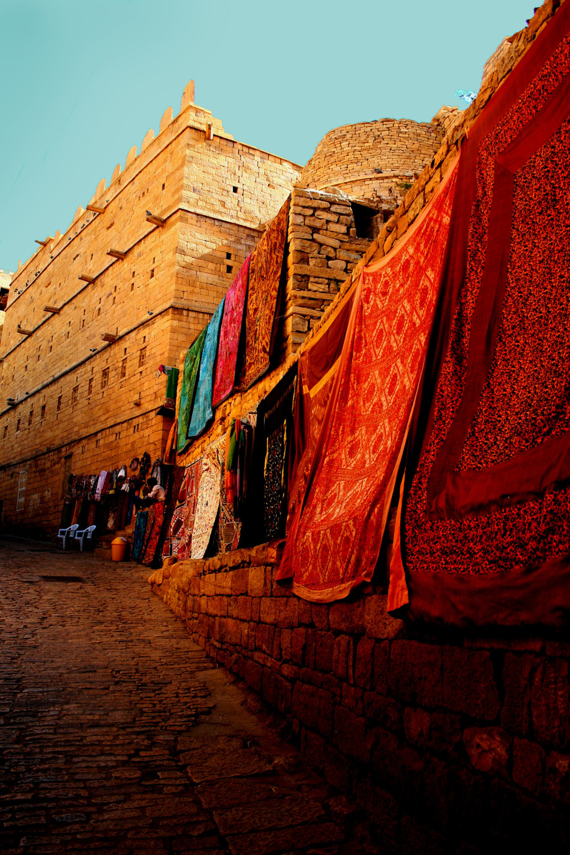 Scarf Heaven #CitrusLifeLove gudulette: Jaisalmer Fort | Rajasthan | India