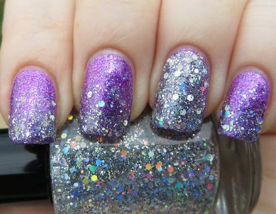 Glitter is a girl's best friend!