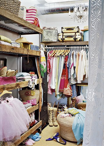 A cuter and neater version of my closet…lol.