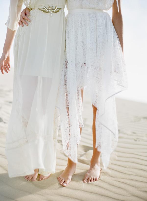 All White Beach Affair? Maybe.