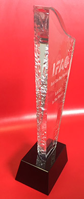 Irish Festival Awards Trophy