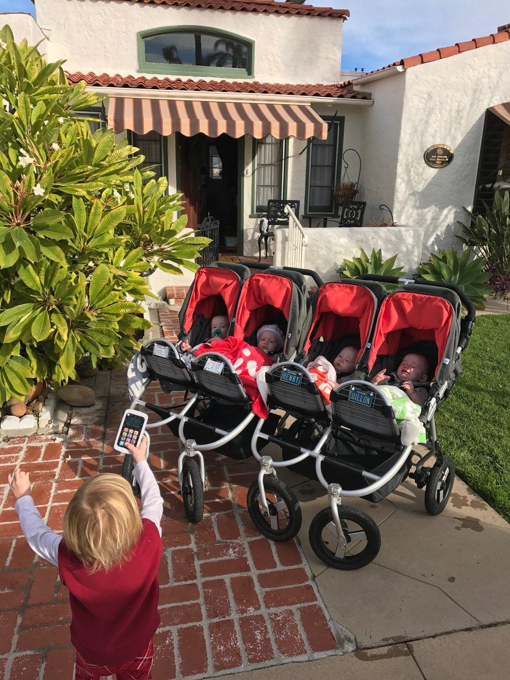 Bumbleride Indie Twin strollers