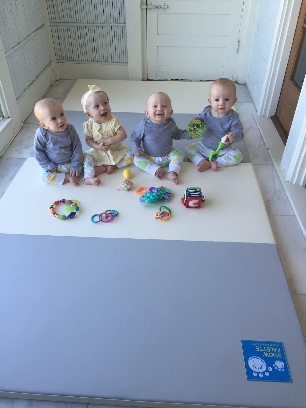 CreamHaus Folding Play Mat
