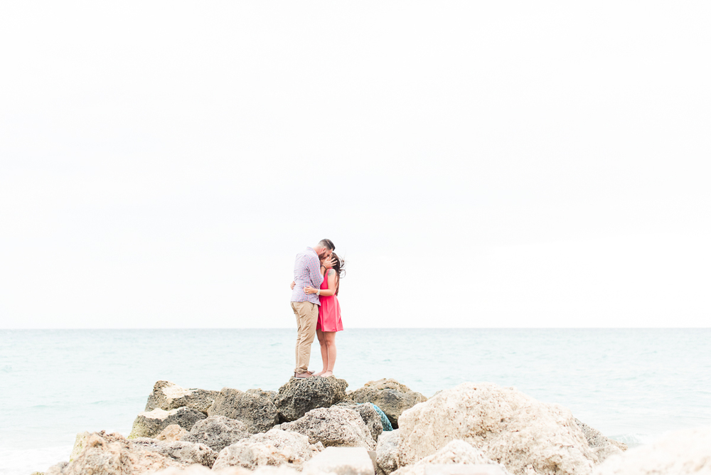 palm beach engagement