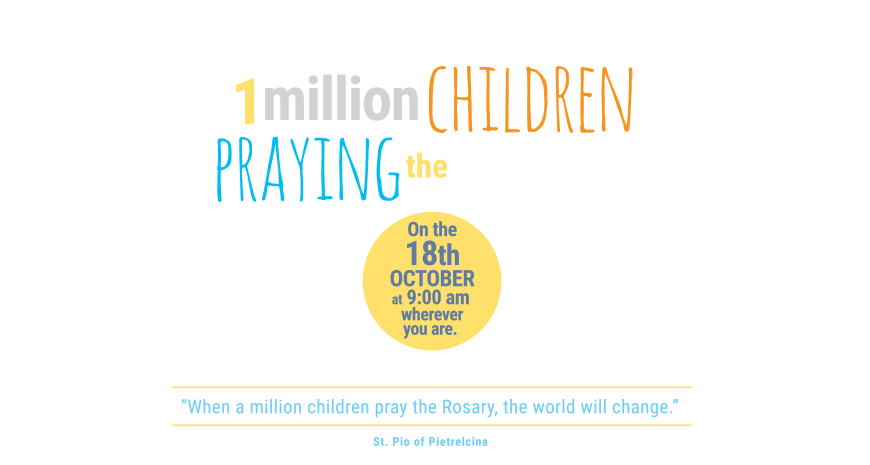 On Wednesday 18th October, children in Year 3 joined Father Neil in church for a special occasion of praying the Rosary. October is the month of the Rosary and the whole school has been learning more about Jesus through the mysteries of the Rosary with a mission to all pray together on this particular day. This  world wide campaign  from ACN (Aid to the Church in Need, an international Catholic charity directly under the Holy See) calls us to pray for the children of Syria, innocent victims of an endless war.   Please click here to see the children of Year 3 participate in this prayer for peace and unity around the world.
