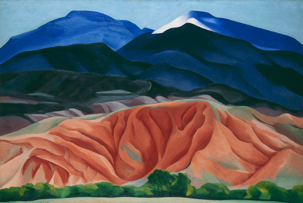 Georgia O'Keeffe, Black Mesa Landscape 1930  Courtesy of the Tate Modern